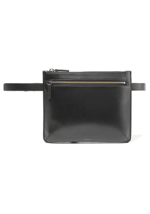 Theory - Leather Belt Bag - Black