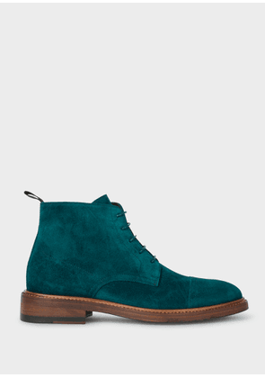 Women's Turquoise Suede 'Jarman' Boots