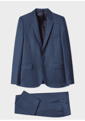 The Soho - Tailored-Fit Dark Blue Wool Suit