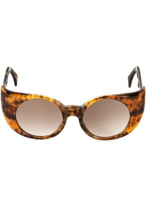 Barn's 'Eye-Liner Frame' sunglasses - Brown
