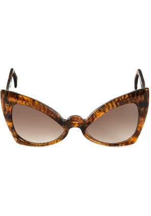 Barn's 'Neo-Futurist' sunglasses - Brown