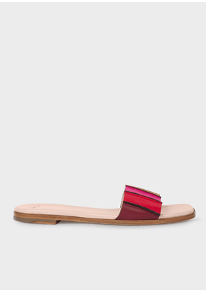 Women's Multi-Coloured Leather 'Safia' Sandals