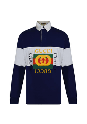 GUCCI Rugby Logo Polo Shirt