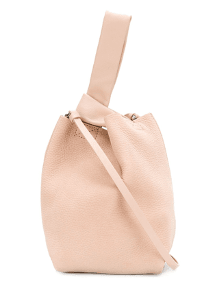 Theory bucket asymmetric shoulder bag - Pink