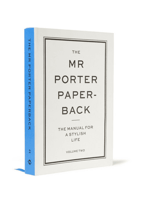 The Mr Porter Paperback - The Manual For A Stylish Life: Volume Two Paperback Book - White