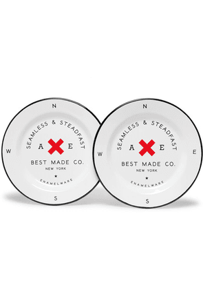Best Made Company - Enamel Plate Set - White