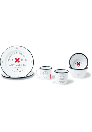 Best Made Company - Enamel Gift Set - White