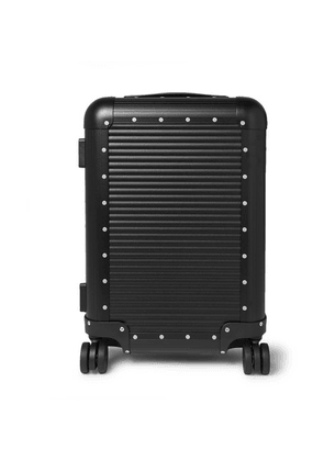 Fabbrica Pelletterie Milano - Spinner 53cm Aluminium Carry-on Suitcase - Black