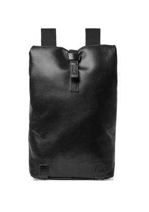Brooks England - Pickwick Perforated Leather Backpack - Black