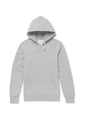 Reigning Champ - Loopback Cotton-jersey Pullover Hoodie - Gray