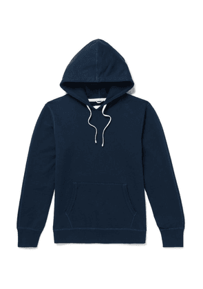 Reigning Champ - Loopback Cotton-jersey Hoodie - Navy