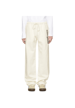 Noon Goons Off-White Icon Lounge Pants