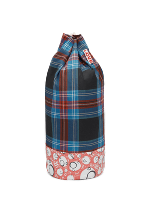 Charles Jeffrey Loverboy Blue & Red Screaming Suns Duffle Bag