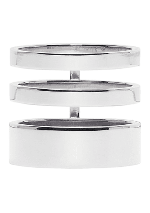 Repossi White Gold Triple Band Berbere Ring