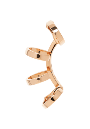 Repossi Rose Gold Multi Band Berbere Ear Cuff