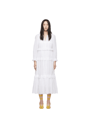 Isabel Marant Etoile White Aboni Dress