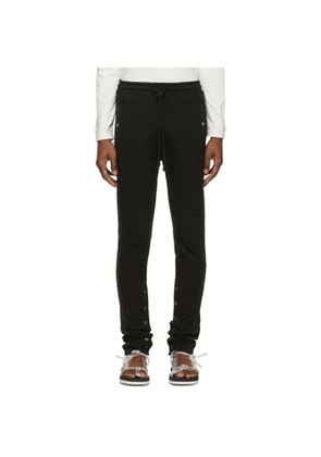 Christian Dada Black Side Stripe Lounge Pants