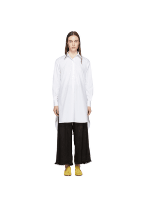 Rosetta Getty White Tunic Shirt Dress