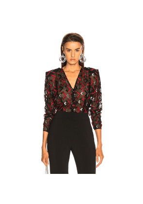 CARMEN MARCH Blouse in Red