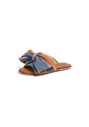 Brother Vellies Burkina Knot Slides