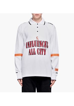 Heron Preston - Influencer Long Sleeve Polo