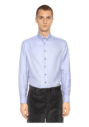 Cotton Shirt W/ Small Collar
