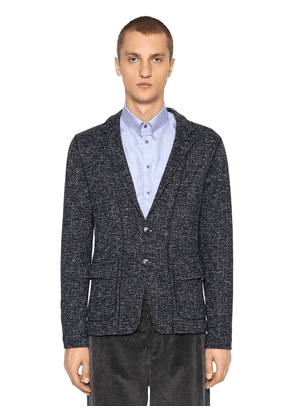 Deconstructed Wool Blend Jacket