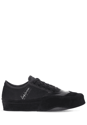 Leather, Suede & Canvas Sneakers