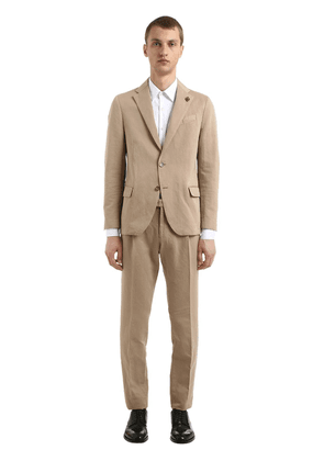 Linen & Cotton Unlined Suit