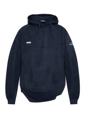 Vetements Branded hooded sweatshirt