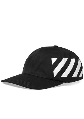 Off-White Diagonals Baseball Cap Black   White 862fda33f9c4