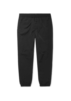 AMI - Tapered Shell Sweatpants - Black