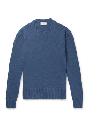 AMI - Knitted Sweater - Blue