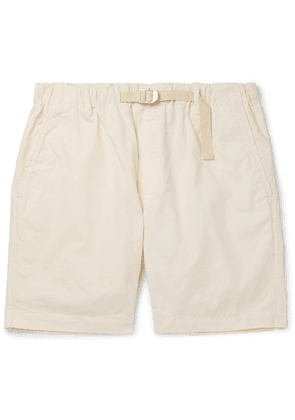 Albam - Mountain Cotton-twill Shorts - Neutral
