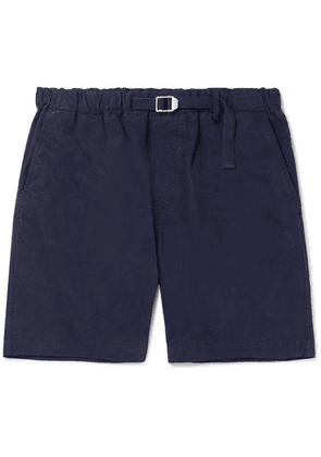 Albam - Mountain Cotton-twill Shorts - Navy