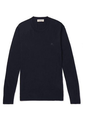 Burberry - Cashmere Sweater - Navy