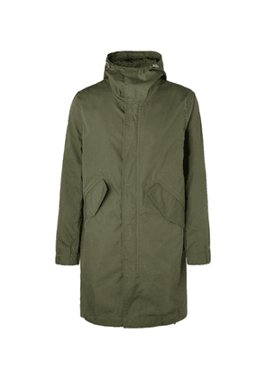 Bellerose - Cotton And Nylon-blend Ripstop Hooded Jacket - Green