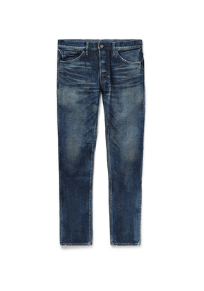 Fabric-Brand & Co - Slim-fit Denim Jeans - Blue