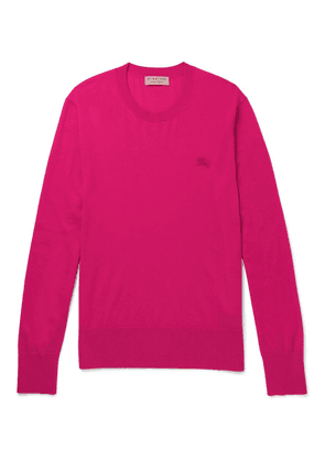 Burberry - Cashmere Sweater - Pink