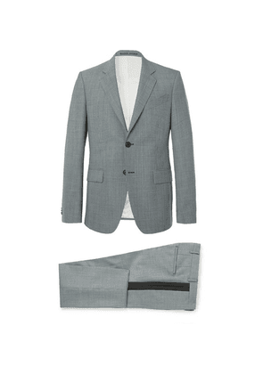 Givenchy - Blue Slim-fit Puppytooth Wool Suit - Blue