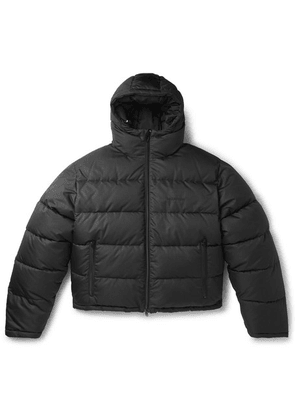 Balenciaga - Slim-fit Quilted Ripstop Hooded Jacket - Black