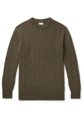 Connolly - Cable-knit Cashmere Sweater - Green