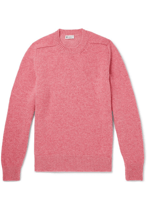 Connolly - Mélange Shetland Wool And Cashmere-blend Sweater - Pink