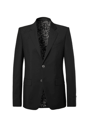 Givenchy - Black Slim-fit Wool And Mohair-blend Blazer - Black