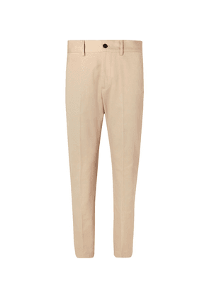 Burberry - Cotton-twill Chinos - Neutral