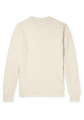 Albam - Ribbed Wool Sweater - Cream