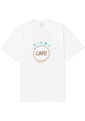 Vetements - Embellished Printed Cotton-jersey T-shirt - White