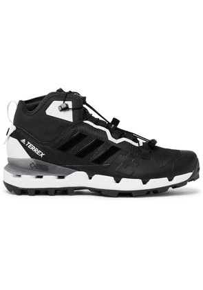adidas Consortium - + White Mountaineering Terrex Fast Gore-tex And Mesh Sneakers - Black