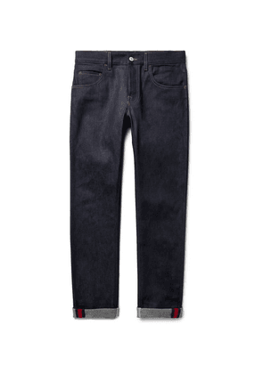 Gucci - Slim-fit Stretch-denim Jeans - Blue