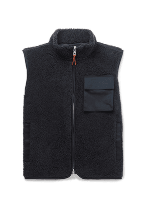 Albam - Fleece Gilet - Navy